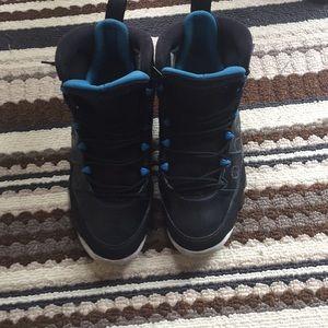 Blue and Black Retro Jordan 9s